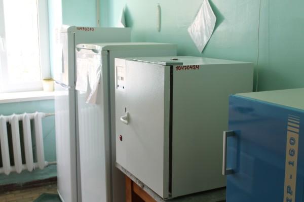 Холодильное оборудование бак отдела